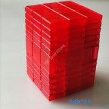 Full Function 3x3x13 II Clear Red Cube
