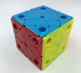 Fangshi Morpho Marinita Stickerless (Skewb-Core Mechanism + 2x2x2 Cutting)