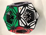 mf8 Crystal Dreidel Cube Black Body