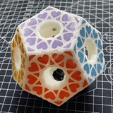 Fangshi Void Star Wheel Dodecahedron White Body (3D Printing)