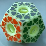 Fangshi Void Star Wheel Dodecahedron Green Body (3D Printing, limited edition)