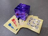 Official Latch Cube Metallized Purple from Japan (Assembled & Stickered)