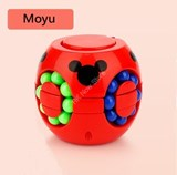 Moyu Q-Babylon Tower & Spinner Puzzle Red Body