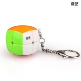 Qiyi 2x2x2 (3.5cm) Pillow Cube Keychain Stickerless