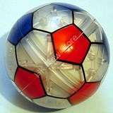 DreamBall Puzzles - Football Sportsball in Clear Body