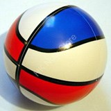 DreamBall Puzzles - Basketball Sportsball in White Body