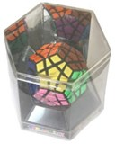 12 color Tiled Megaminx, in HEX box