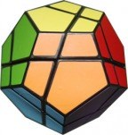 Skewb Ultimate 12 Color with German Stickers Black