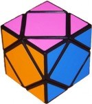 Skewb Cube black body with Fluorescent stickers