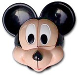 Meffert's Mickey Mouse head